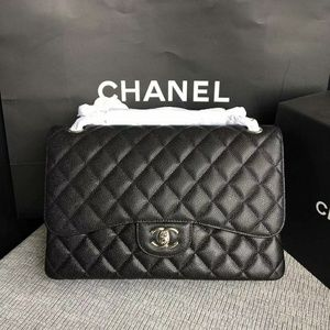 Chanel Jumbo Flap Bag New Check Description